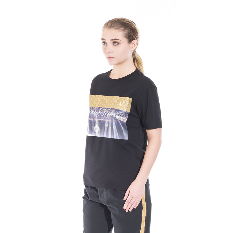 Palm Angels Glitter Skate Tee at Feuille Luxury - 5