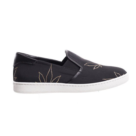 Palm Angels Marihuana Tuxedo Slip Ons at Feuille Luxury - 1