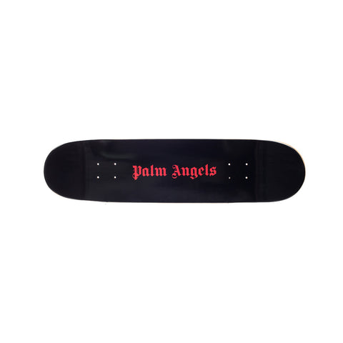 Palm Angels Metal Skull Skateboard at Feuille Luxury - 2