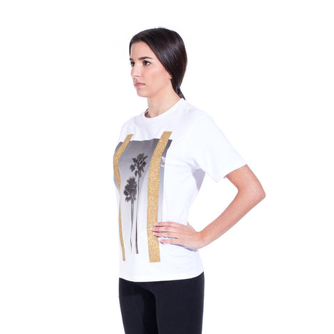 Palm Angels Palms Tee at Feuille Luxury - 4