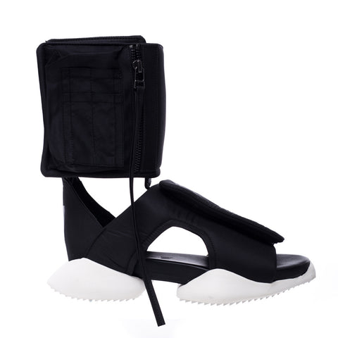Adidas X Rick Owens Cargo Sandal at Feuille Luxury - 1