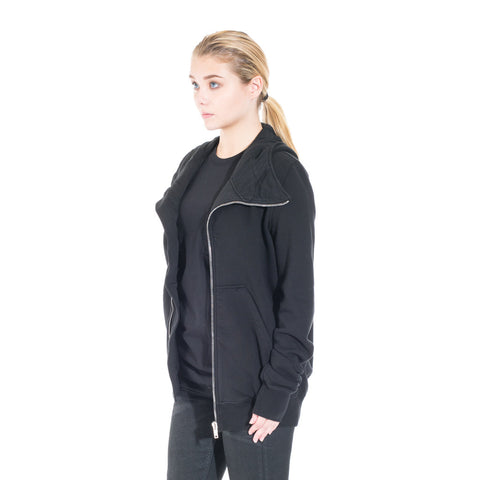Rick Owens DRKSHDW Bullet Hoody at Feuille Luxury - 5