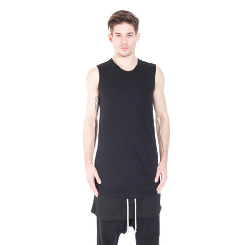 Rick Owens DRKSHDW Double Layer Sleeveless Top at Feuille Luxury - 1