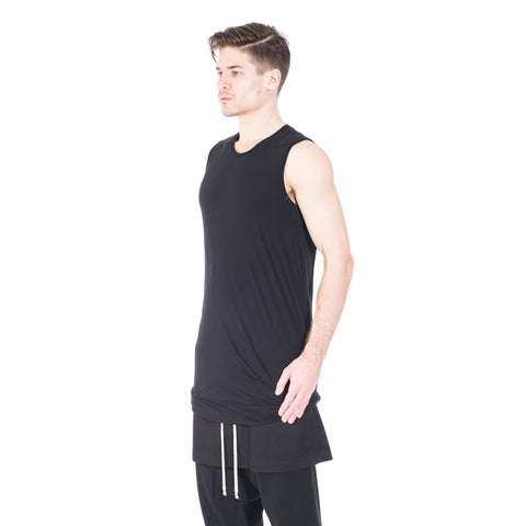 Rick Owens DRKSHDW Double Layer Sleeveless Top at Feuille Luxury - 3