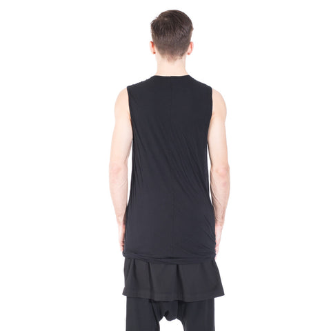 Rick Owens DRKSHDW Double Layer Sleeveless Top at Feuille Luxury - 4
