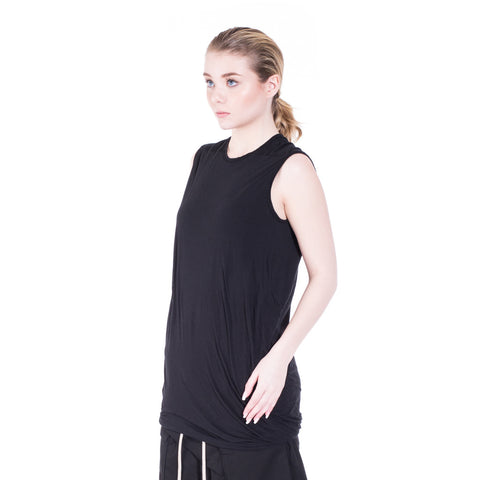 Rick Owens DRKSHDW Double Layer Sleeveless Top at Feuille Luxury - 6