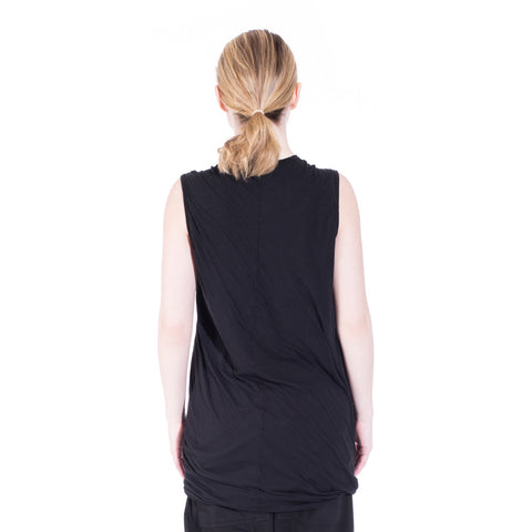 Rick Owens DRKSHDW Double Layer Sleeveless Top at Feuille Luxury - 7