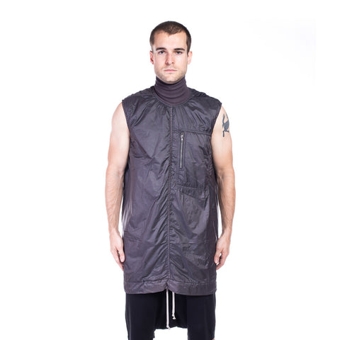 Rick Owens DRKSHDW Sphinx Sleeveless Tunic at Feuille Luxury - 1