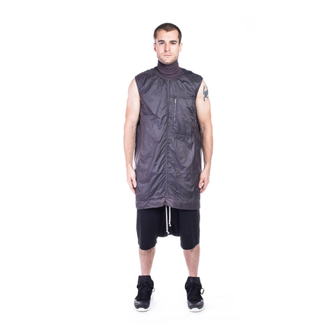 Rick Owens DRKSHDW Sphinx Sleeveless Tunic at Feuille Luxury - 5