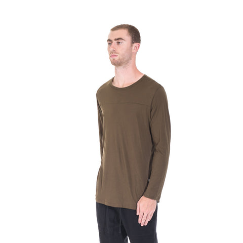 StampdLA Chamber Scallop Long Sleeve T-Shirt at Feuille Luxury - 5