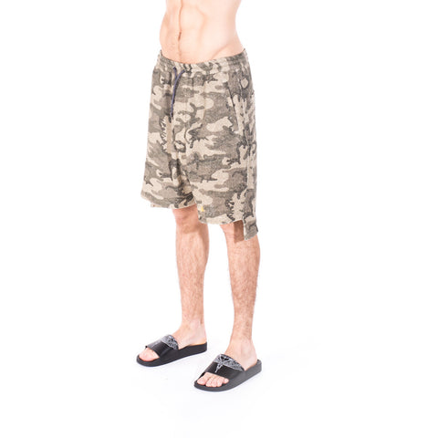 Vivienne Westwood Camouflage Shorts at Feuille Luxury - 3
