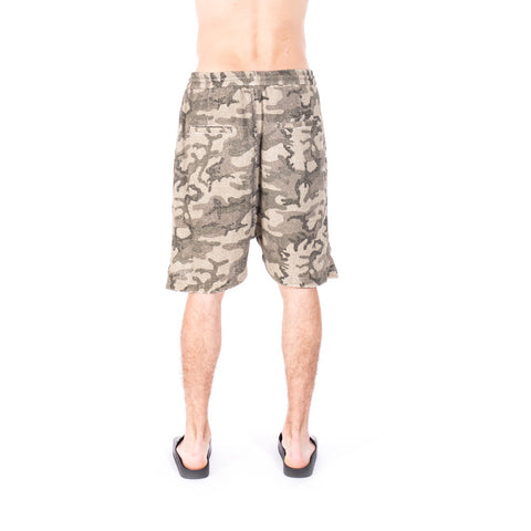 Vivienne Westwood Camouflage Shorts at Feuille Luxury - 4