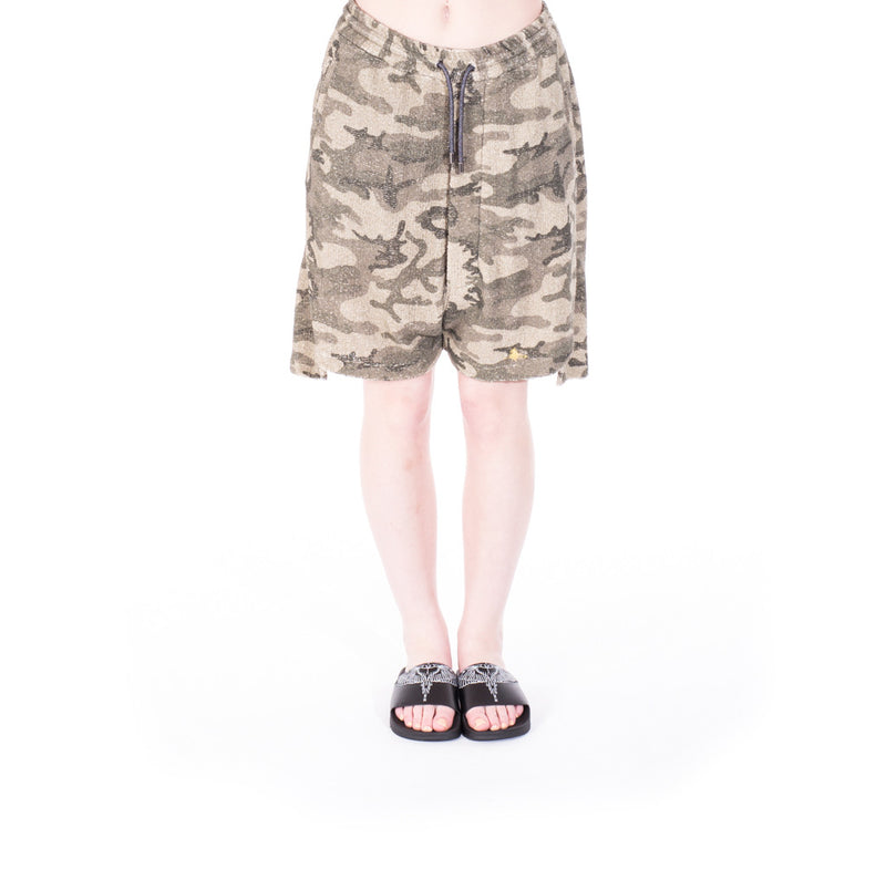 Vivienne Westwood Camouflage Shorts at Feuille Luxury - 2