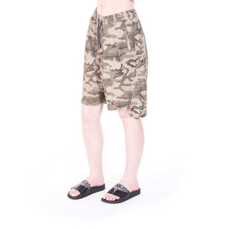 Vivienne Westwood Camouflage Shorts at Feuille Luxury - 5