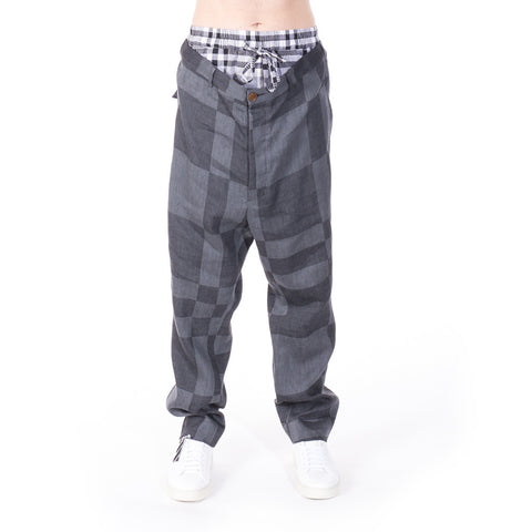 Vivienne Westwood Checkered Pants at Feuille Luxury - 1