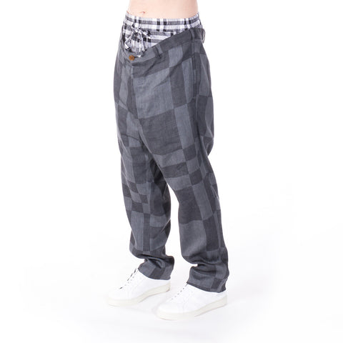 Vivienne Westwood Checkered Pants at Feuille Luxury - 2