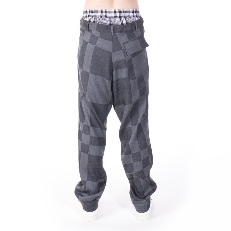 Vivienne Westwood Checkered Pants at Feuille Luxury - 3
