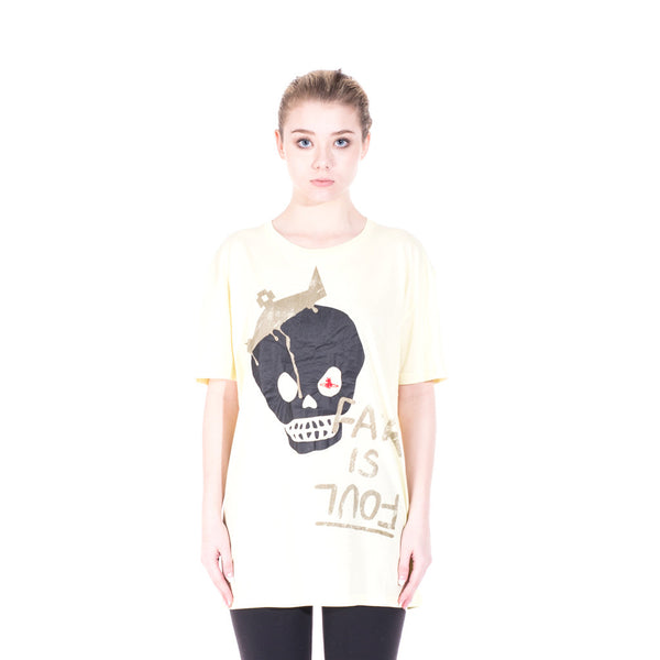 Vivienne Westwood Fair is Foul Tee at Feuille Luxury - 1