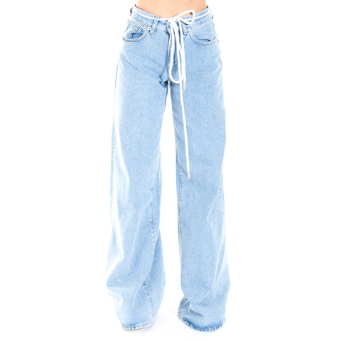 Denim Baggy Seams Jeans