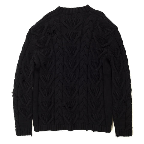 Destroyed Fisherman Sweater