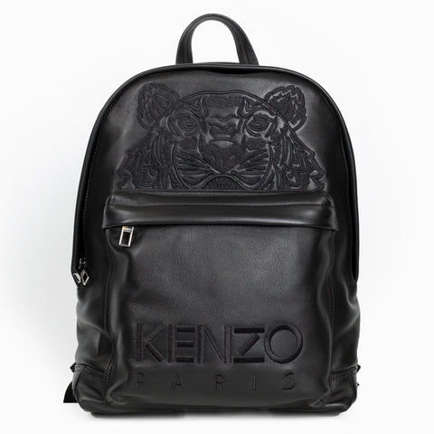 Tiger Leather Backpack