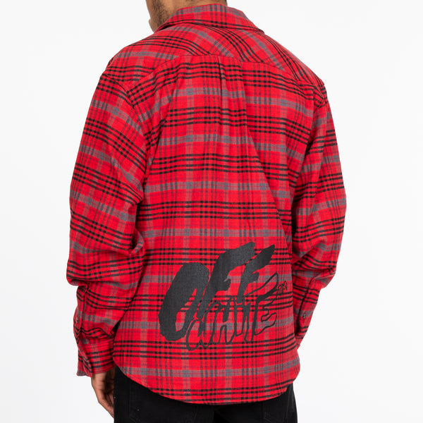 Red Flannel Check Shirt
