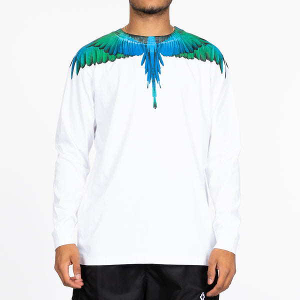 Blue Wings Long Sleeve Tee