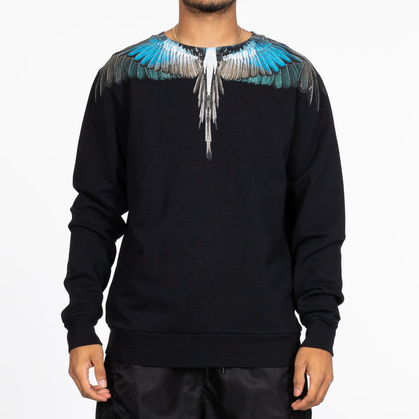 Turquoise Wings Sweater