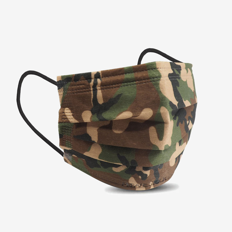 4-Ply Jungle Camo Protective Mask