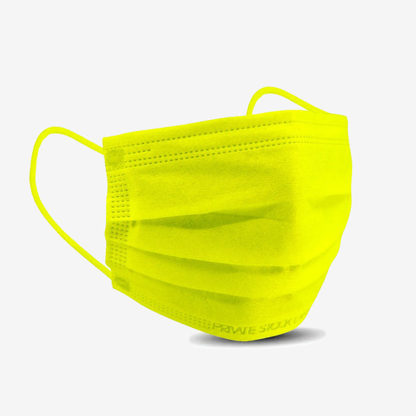 4-Ply Lime Protective Mask