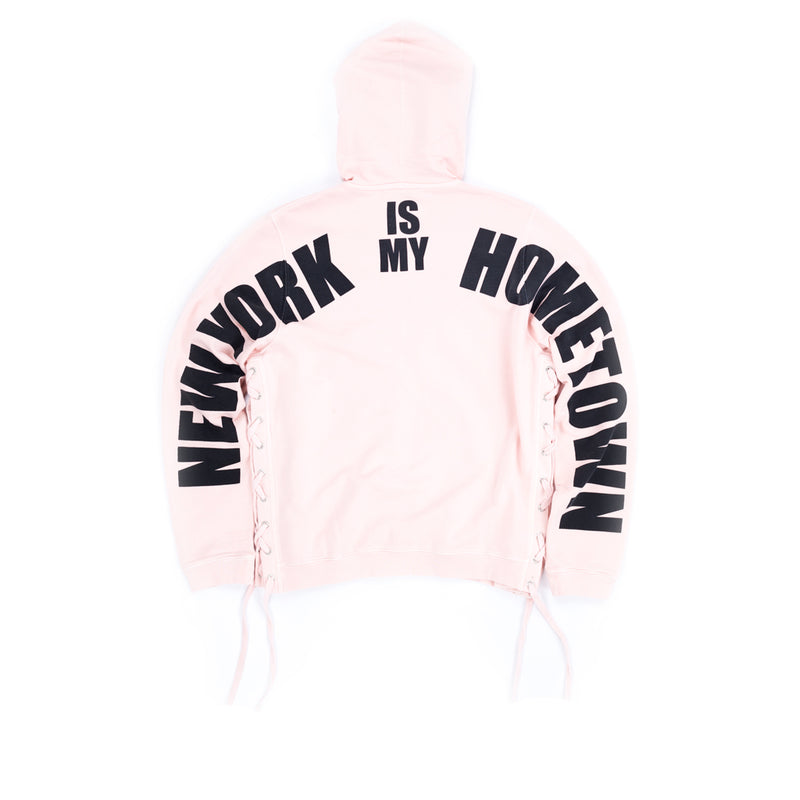 New York Laced Zip Hoody
