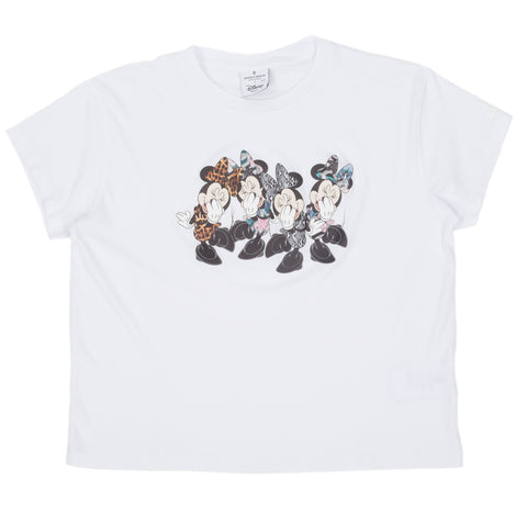 Ladies Minnie Mouse Quartet Tee
