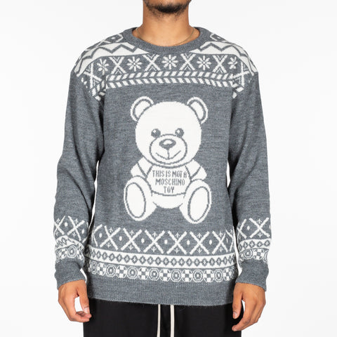 Bear Intarsia Sweater