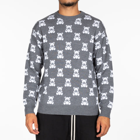 Bear Checker Sweater
