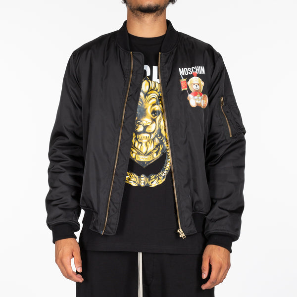 Gladiator Bear Bomber Jacket