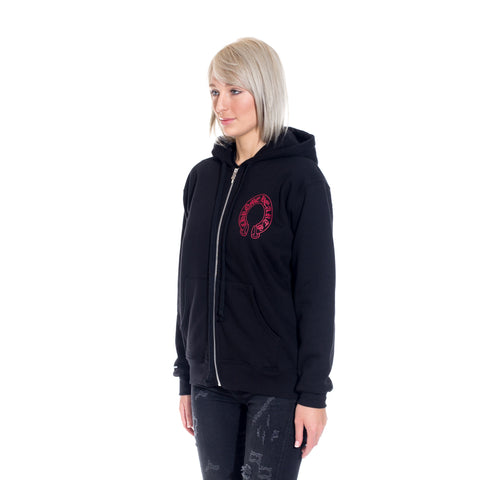 Cemetery Horseshoe Thermal Hoody