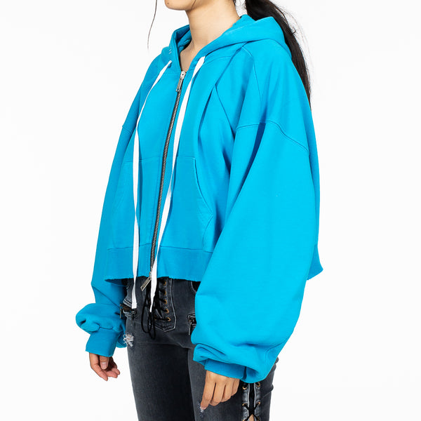 Chopped Zip Hoody