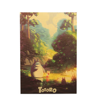 Totoro English Poster (Portrait)