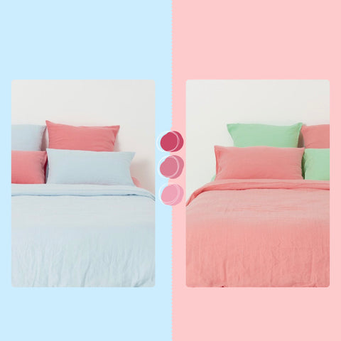 Ginger Dream mix and match bed linen