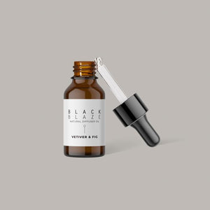 BLACK BLAZE VETIVER & FIG DIFFUSER OIL - Ginger Dream