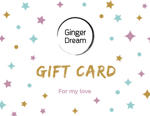 Ginger Dream Gift Card - Ginger Dream