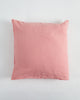 EXCLUSIVE COLOR - Linen European Pillowcase - Salmon Rose - 100% French Flax Linen - Ginger Dream