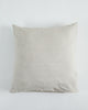 Linen European Pillowcase - Oatmeal - 100% French Flax Linen - Ginger Dream