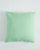EXCLUSIVE COLOR - Linen European Pillowcase - Neo Mint - 100% French Flax Linen - Ginger Dream