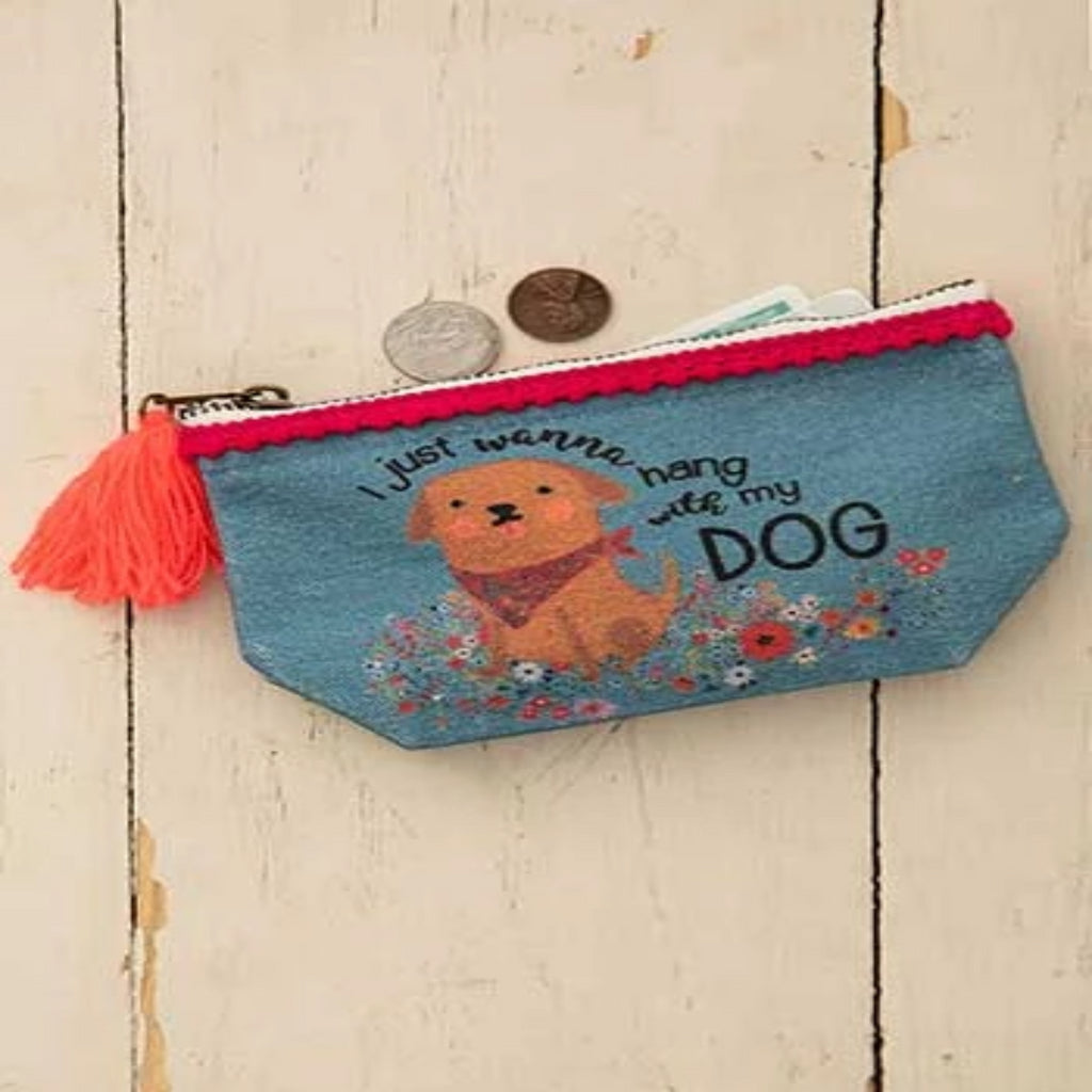 Hang with my dog mini Canvas Pouch