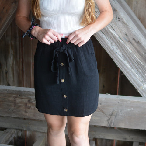 Wine Pocket Skirt