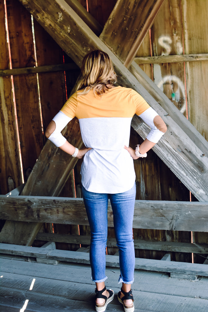 Mustard Patch Top