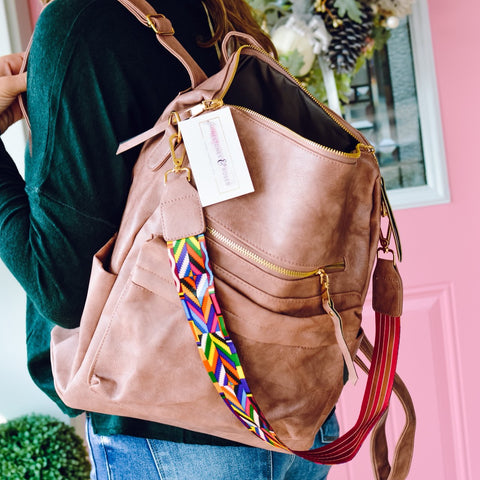 Stone Tassel Backpack