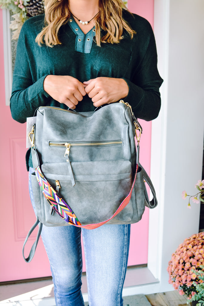 Jentri Grey Versatile Bag