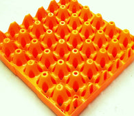 "20 x Orange Stackable Plastic ""30 Egg"" Trays (free postage)"
